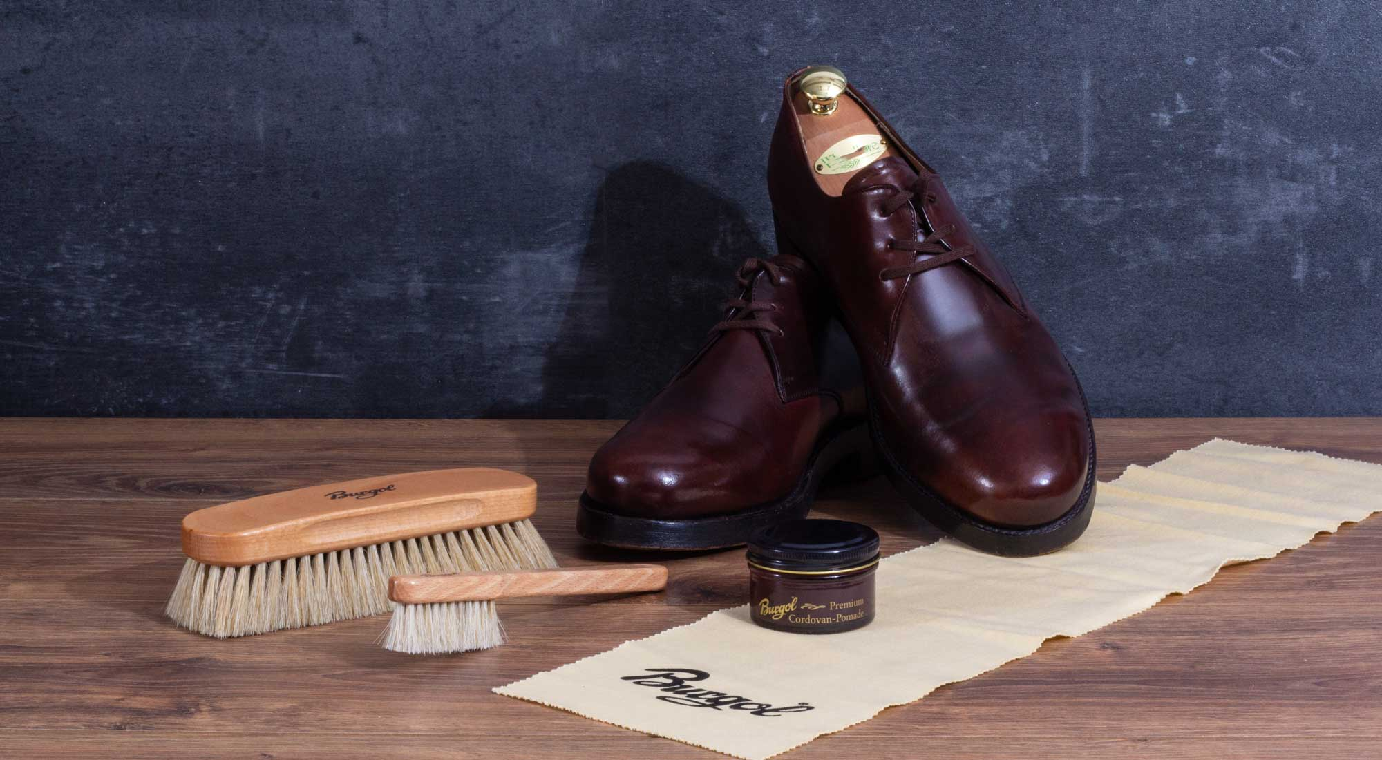 Shoecare for Shell Cordovan shoes