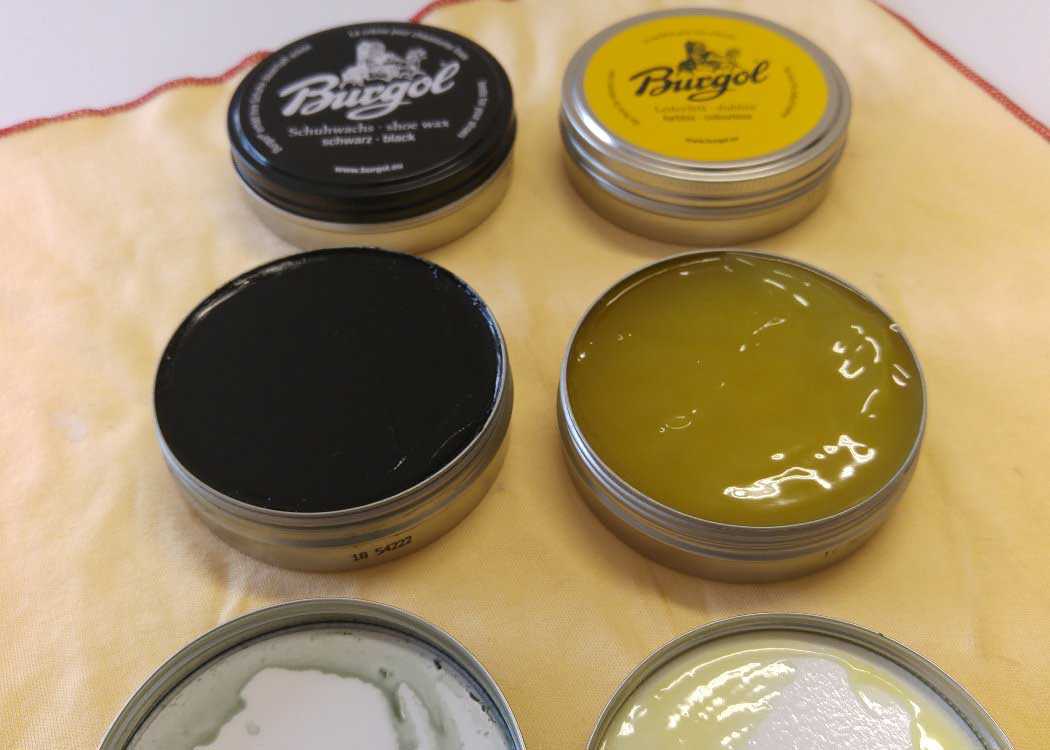 Dubbin and Shoe Polishing Wax in late summer