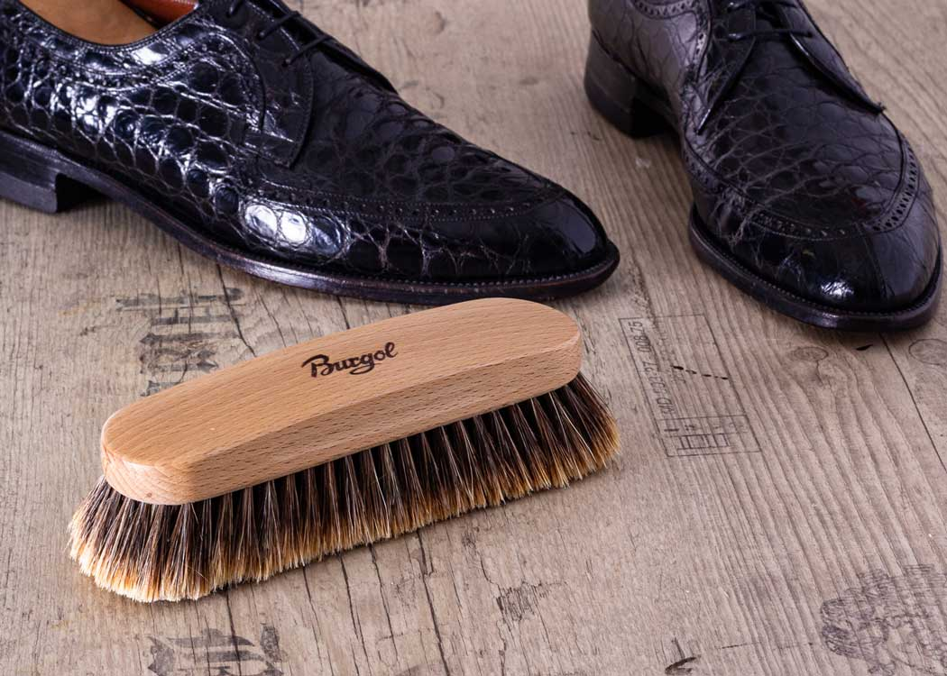 Burgol Viennese Horse Hair Brush