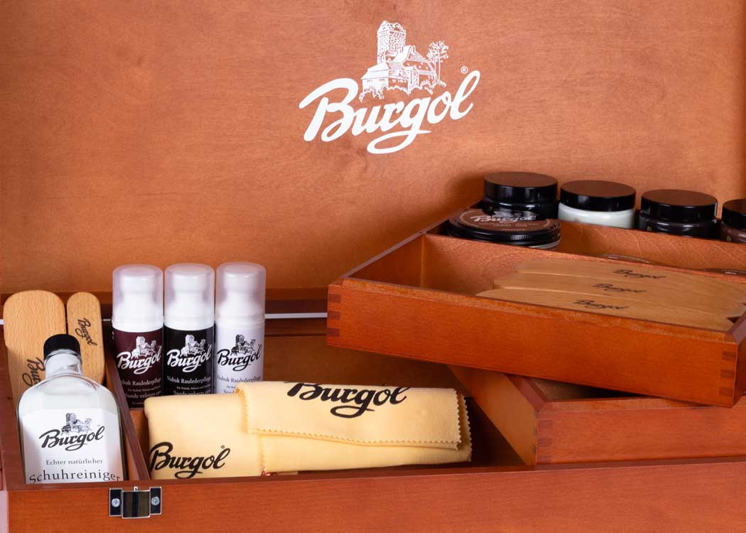 Burgol Shoe Care Box